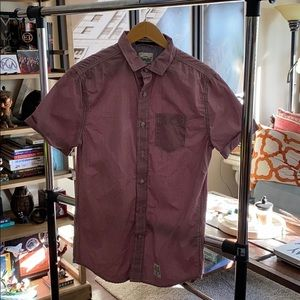 Super Dry  shortsleeved button down.